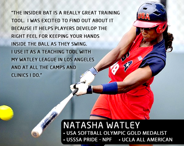 Olympic Softball swing trainer